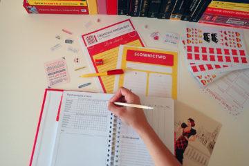 plan na naukę słownictwa